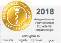 Ausgewiesener internationaler Experte für Implantologie